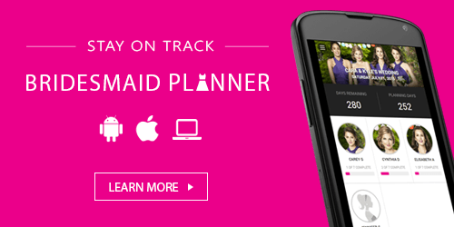 bridesmaid planner to do list phone app