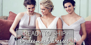 ready to ship bridesmaid dresses
