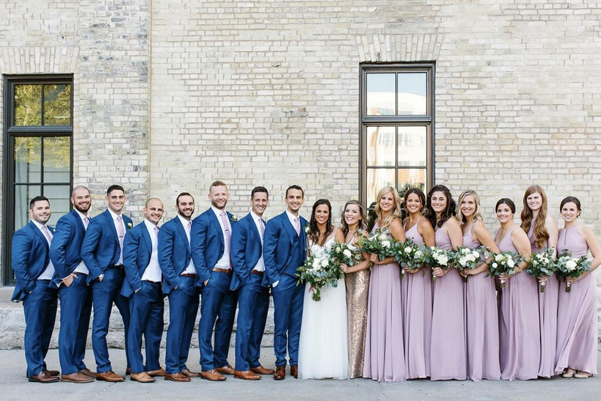 dusty rose bridesmaid dresses for all seasons