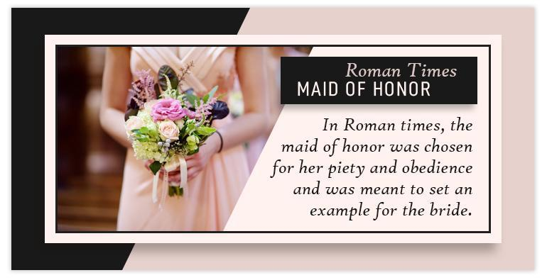 maid of honor roman times