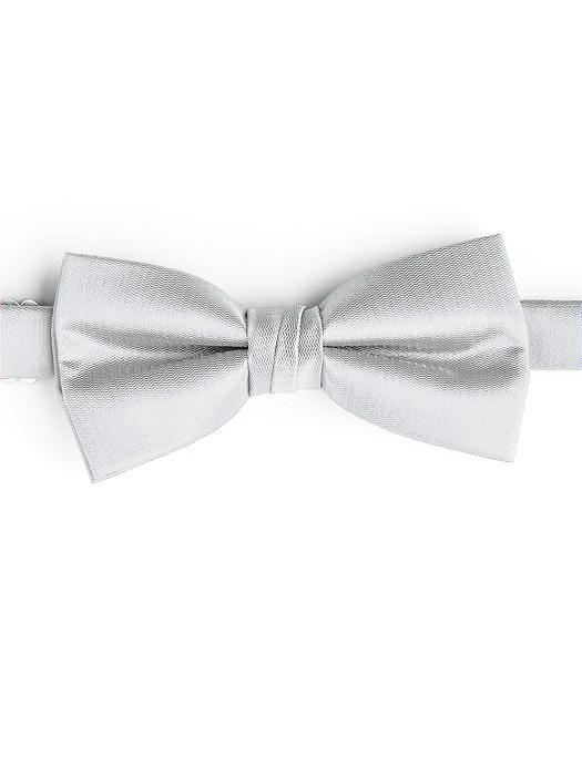 Silver bow tie by After Six