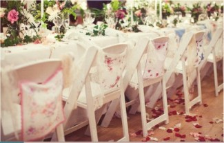 country style wedding table decor