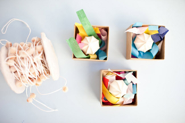 Sew Your Way to DIY Wedding Favor Boxes