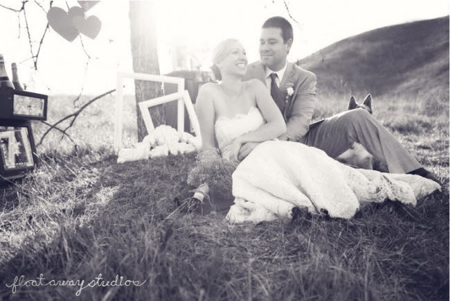 Inspiration for Your Outdoor Bride and Groom Photo Shoot