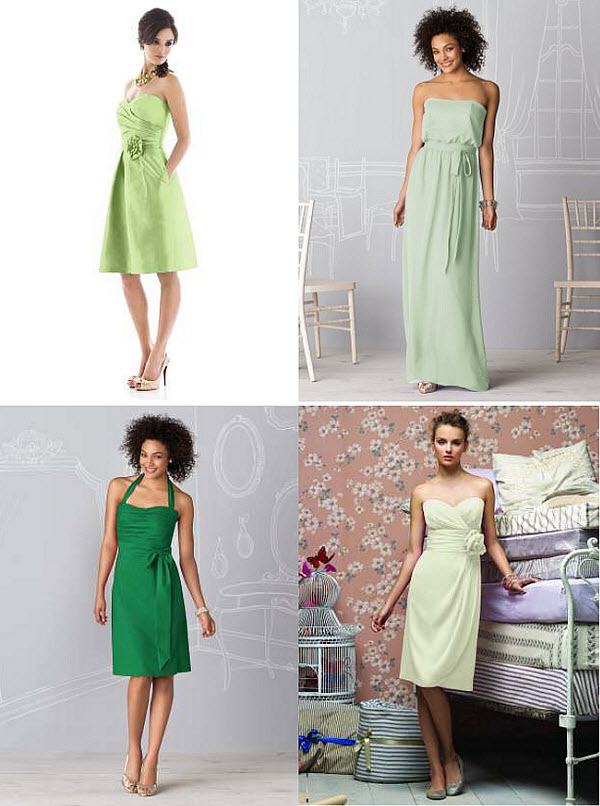 From Dessy: Summer Bridesmaid Dresses