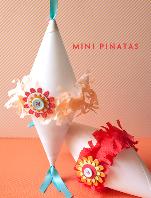 The Perfect Wedding Favor for your Kids Table: Mini Pinatas