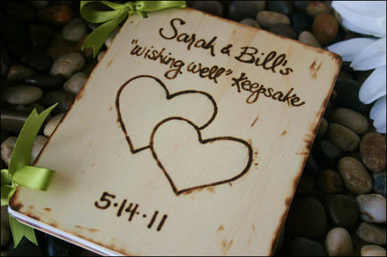 Rustic Handmade Wooden Signs for Your Wedding Keepsakes