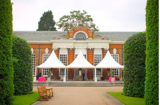 The Orangery at Kensington Palace is a chic London wedding venue