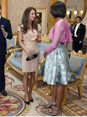 Duchess of Cambridge and Michelle Obama