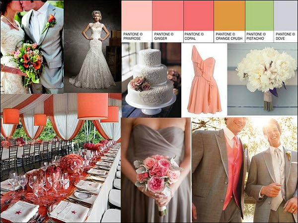 Inspiration Wedding Style Board of the Week: Vintage Garden Theme