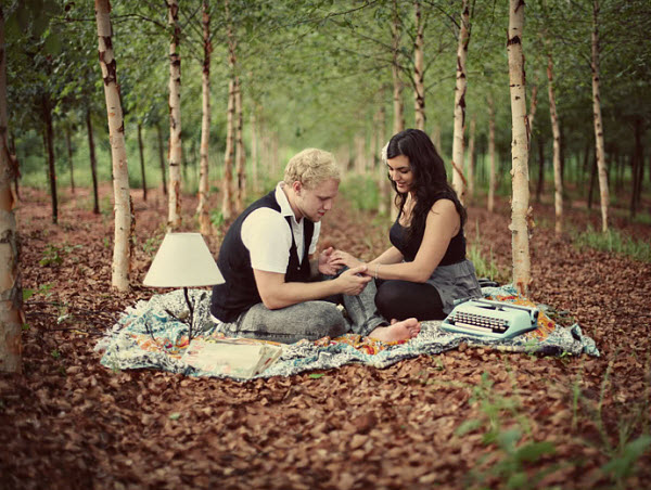 Ideas for Engagement Pictures: A Walk Through the Forest of Love