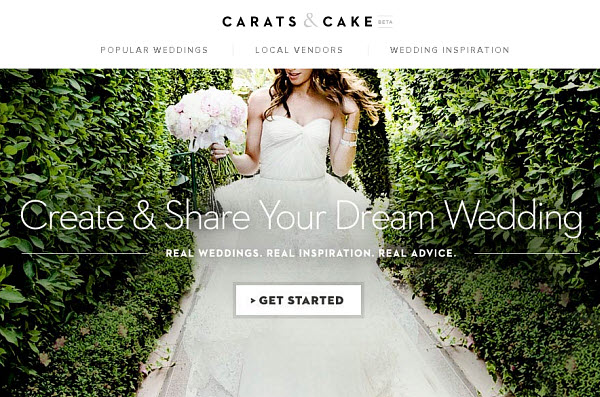 Carats & Cake - A Great Way to Start Your Wedding Planning