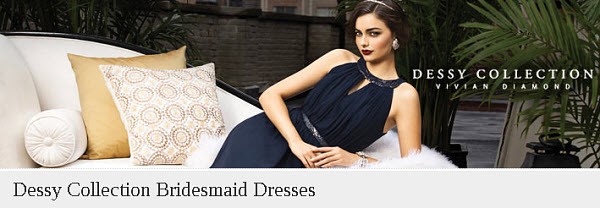 Upscale, Modern Bridesmaid Dresses: The Dessy Collection