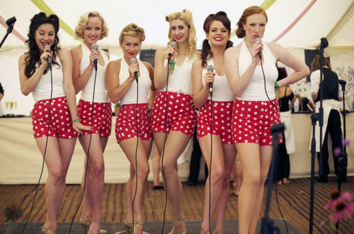 retro girl band Tootsie Rollers