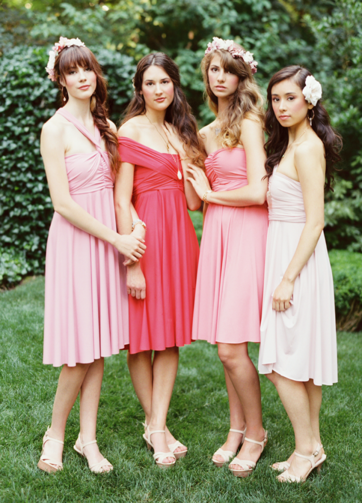 bridesmaid wardrobe must have little twist dress