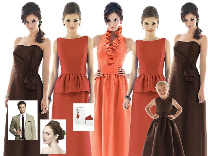 Think Fall with Pantone Terracotta, Fiesta and Brownie