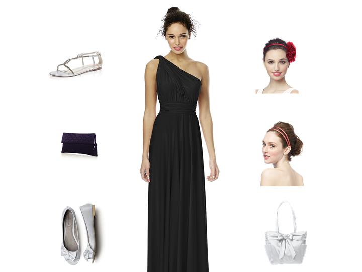 The Right Accessories for Your Twist Wrap Bridesmaid Dress!