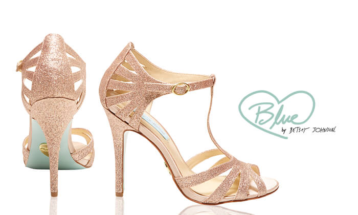Wedding Shoes - Blue by Betsey Johnson