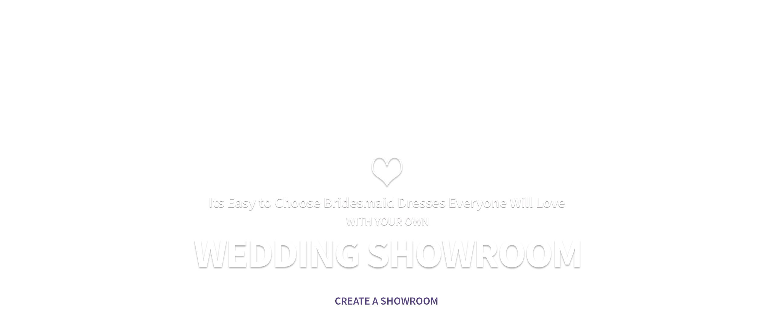 Collaborate on a Look You'll All Love with Your Own Wedding Showroom
