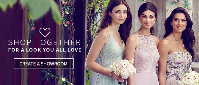 Shop Together - Collaborate on a look you all love - Create a Wedding Showroom