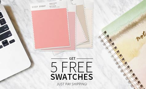 Get 5 Free Fabric Swatches - Just Pay Shipping.