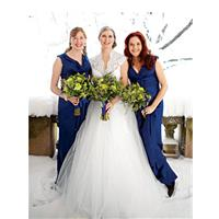 Winter Wedding Themed in Blue and Green