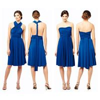 Bridesmaids Dresses with a Twist: One Dress, Endless Styles