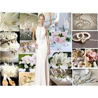 Wedding Inspiration: White Wedding Styleboard