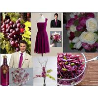 Red Wine Wedding Colors