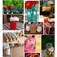 10 Stunningly Creative Ways to Use Mason Jars at Your Wedding