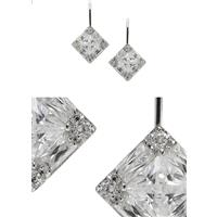 Beautiful Faux 'Diamond' Wedding Earrings at Affordable Prices