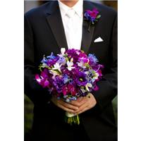 A Purple Themed Wedding To Dazzle You
