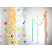 Paperdot Garlands: DIY Wedding Decor