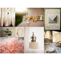 Wedding Inspiration: Romantic Wedding Styleboard