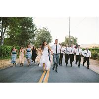 The Best Bridesmaid and Groomsmen Photos We've Seen