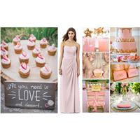 BRIDESMAID GUIDE - Think Pink! Pink Summer Wedding Inspiration