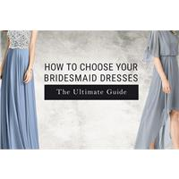 How to Choose Your Bridesmaid Dresses: The Ultimate Guide