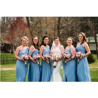 Deep Hues and Dusty Blues: The Best Bridesmaid Dresses for Fall Weddings