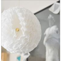 DIY Wedding Decor: Coffee Filter Pom Poms