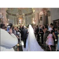 Real Life Dessy Flowergirls AND Bridesmaids At Wedding In Italian Castle