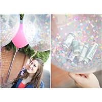 DIY Wedding Ideas: Confetti Balloons