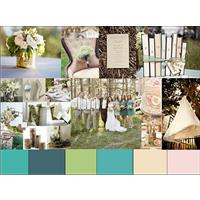 Outdoor Wedding Ideas: A Vintage Wedding Styleboard