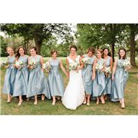 Five Tips for Picking Out a Bridesmaid Dress for Your Petite Bridesmaid