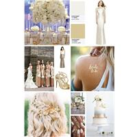 Giving your wedding a GOLDEN glow