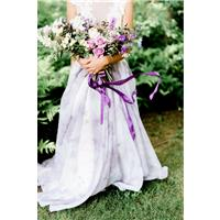 7 ideas for purple themed wedding styling